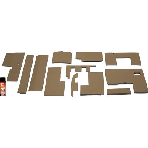 John Deere Console Diagram Wiring Schematic X300 50 Series 4wd Lower Cab Kit Tractor Foam