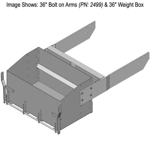 John Deere 9R-9RX Series Standard Weight Box | Front-End