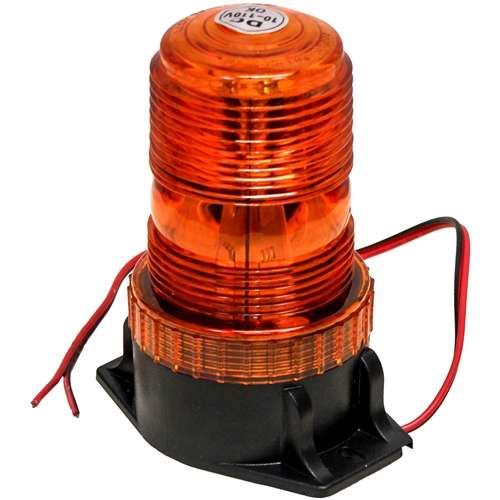 p lighting light operated battery rotating custer led products beacon