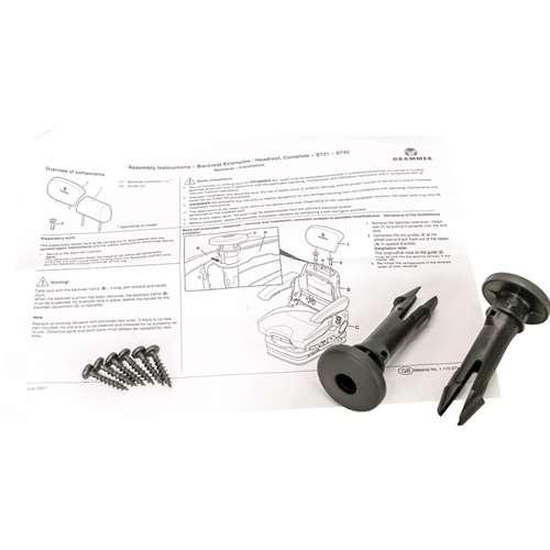 KM Grammer Backrest Extension Install Kit
