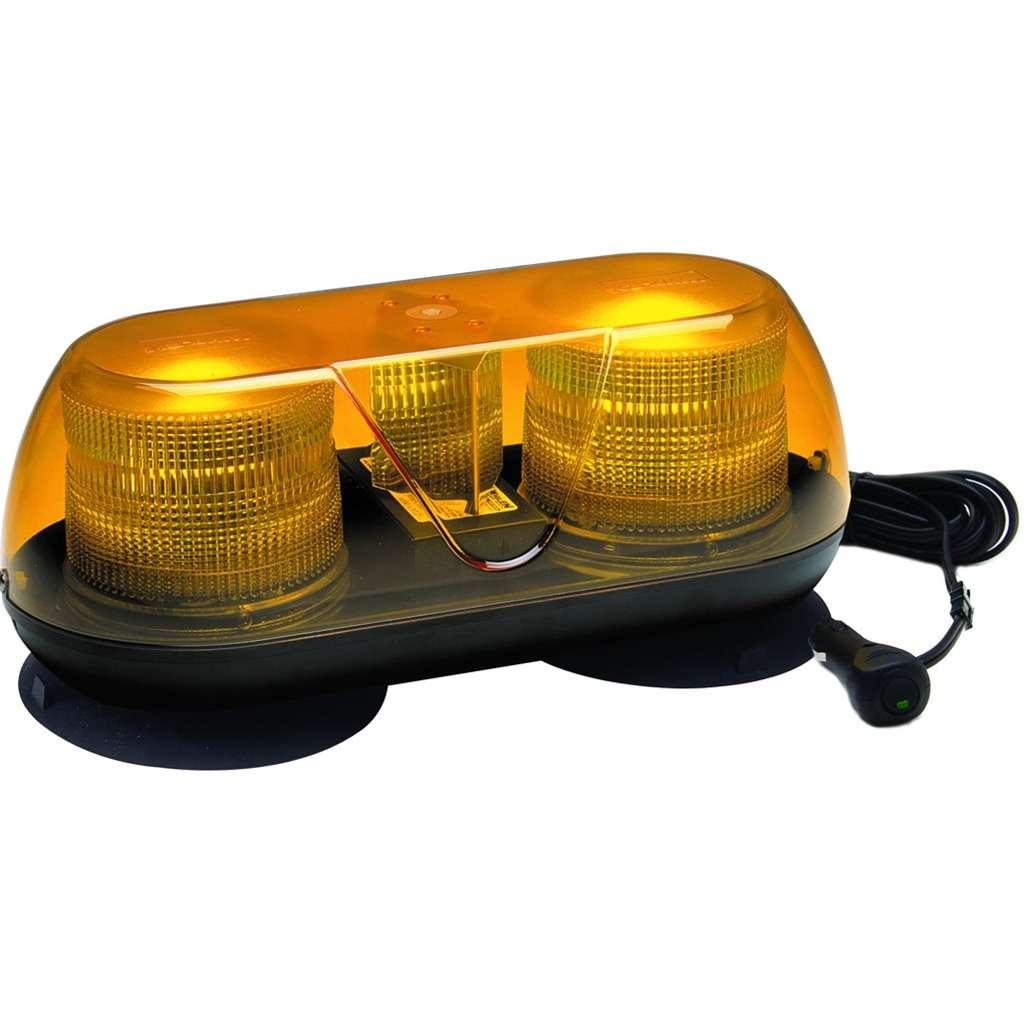 Km 17 amber strobe mini light bar safety light bar tractorseats km 17 amber strobe mini light bar aloadofball Gallery