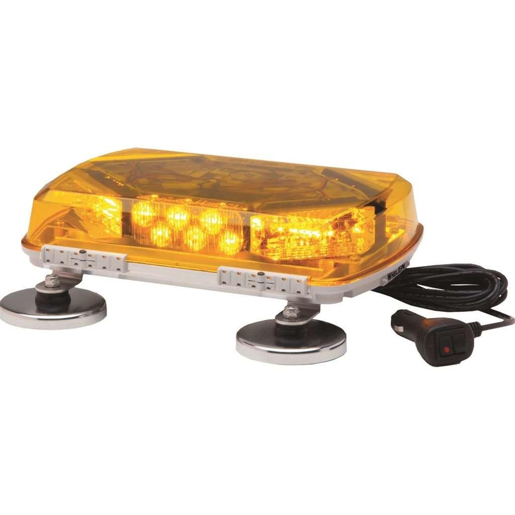 Km 11 amber strobe mini light bar safety mini light bar warning km 11 amber strobe mini light bar aloadofball Choice Image