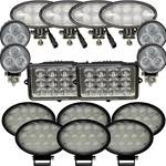 Complete John Deere S-T-W Series Combine LED Light Kit