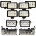 Complete Ford-New Holland 70 Genesis Series LED Light Kit