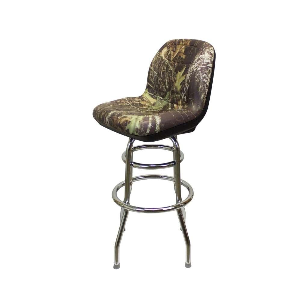 km camo gator seat barstool camo garage stool shop