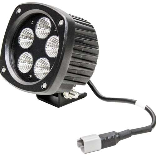 Case/Cat/Gehl/Deere/Komatsu/Mustang LED Semi-Round Flood Light