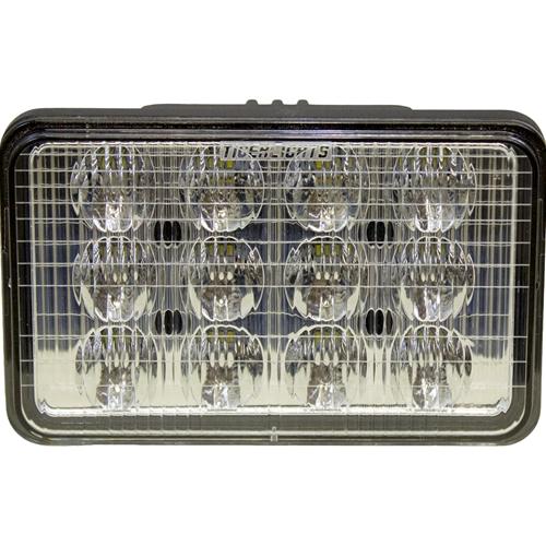 Led Lights For Tractors Ih : Case ih  combine tractor led cab hood light