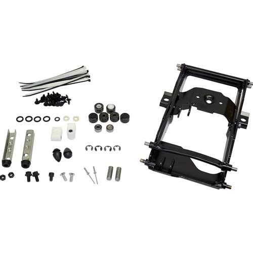 All Machinery Parts Seat and Suspension Assembly Black EW700BL-AM