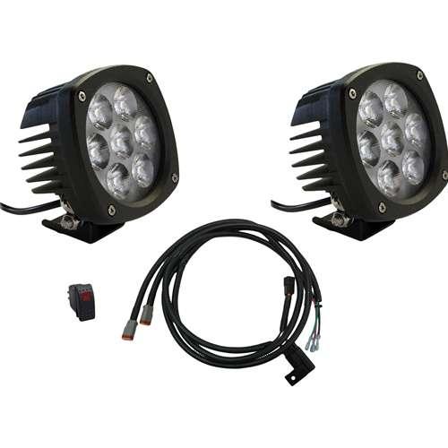 Kubota Work Light Kit : Kubota rtv series led spot light kit tlkb