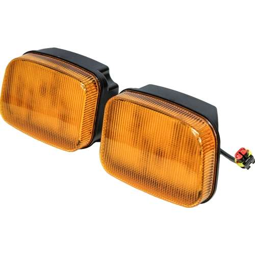 Ford-New Holland 70 Genesis Series LED Amber Cab Corner Light Kit