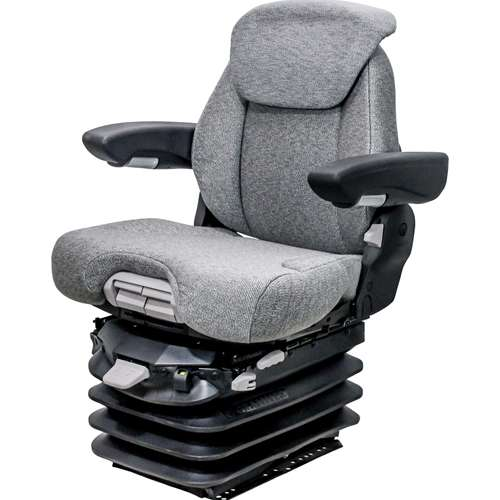 Case IH 9100 & Steiger KM 1061 Seat & Air Suspension - Gray Fabric