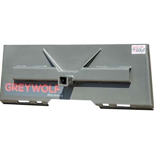"GreyWolf™ Skid Steer 2"" Receiver Hitch Plate"