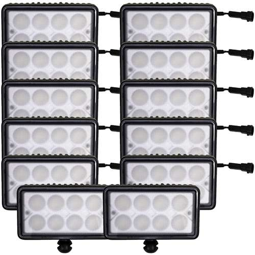 Complete John Deere 8000(T)-8010(T) Series LED Light Kit