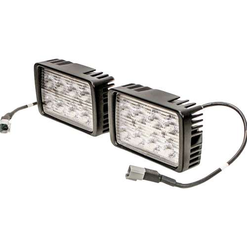 LED Headlight Kit Left Hand and Right Hand Compatible with Bobcat S650 S650
